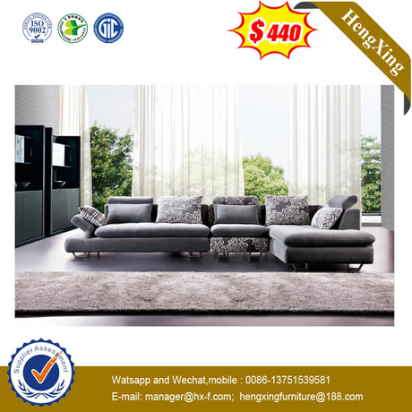 Factory Modern Fabric Home Hotel Office Furniture Leisure Sofa With Metal Leg