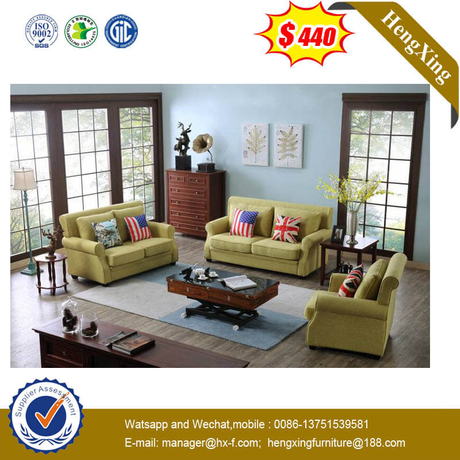 3+2+1 American Style Single Hotel Living Room Furniture Fabric Sofa Chair