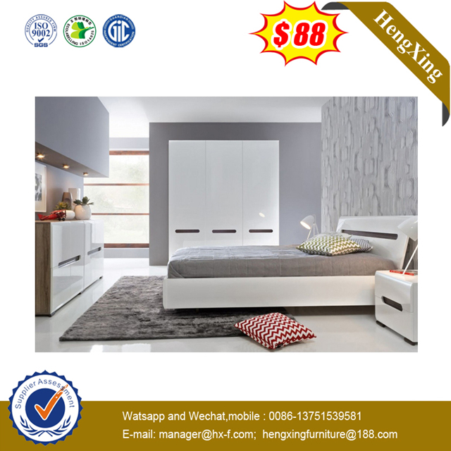 hot saling simple design bedroom modern living room bed