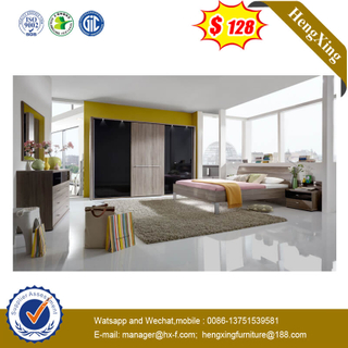 Modern School Furniture Bedroom University Dormitory Houseroom Metal Legs Bed