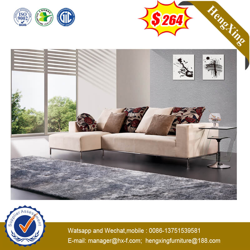 5-star Hotel Furniture L Shaped Fabric Sofa Livingroom Reception Sofa