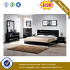 Foshan Factory Home Hotel Furniture King Size Bedroom Bed