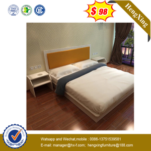 Double Bedroom Bed Frame Used for hotel Furniture