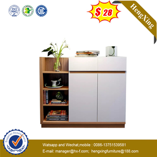 White Color Modern Mdf Wooden drawers Rack Storage cabinet