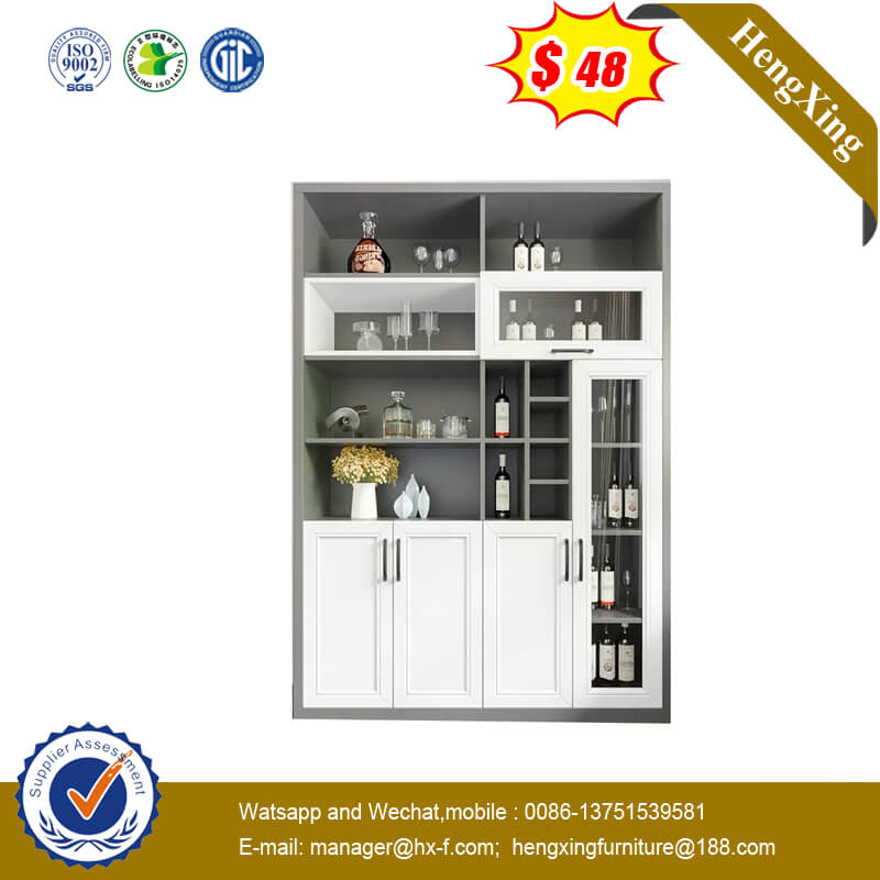 Modern Simple Shelf Storage Cabinet Study Bookcase Home Furniture
