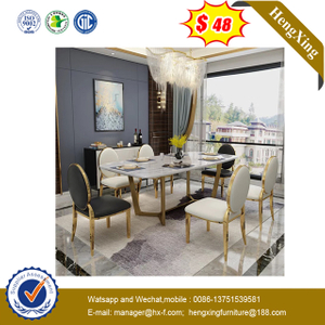 Metal Table Restaurant Dining Tables Coffee Stainless Steel Table Furniture