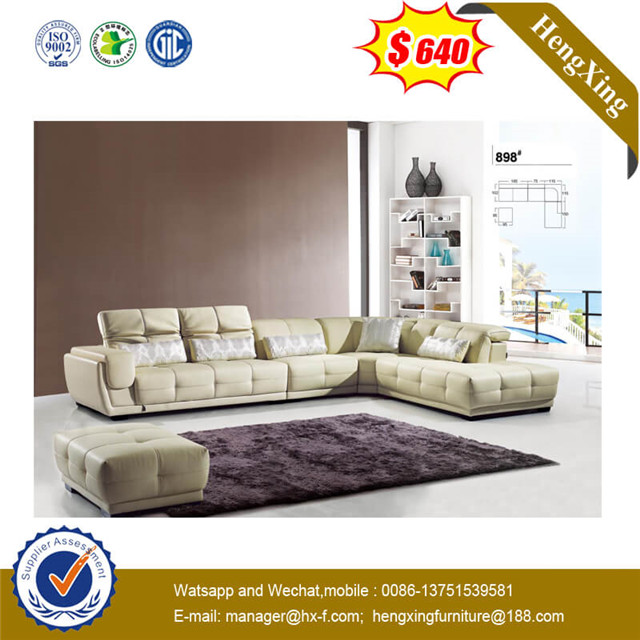 New Style Conference Furniture Shallow Color Fabric Leisure Seating Office Leather Sofa