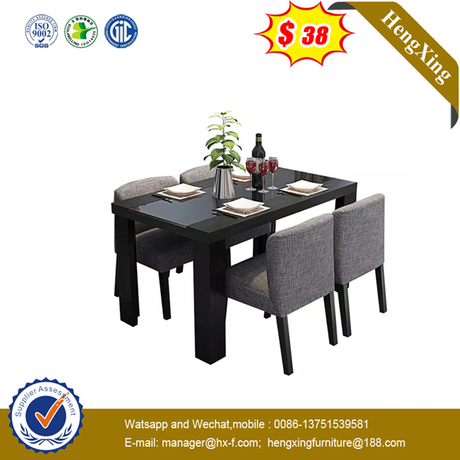 Chinese Furniture Wooden Top MDF Leg Dining Tables for Wedding event