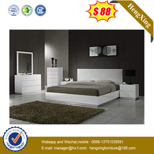 Factory modern hotel furniture wooden bedroom bed