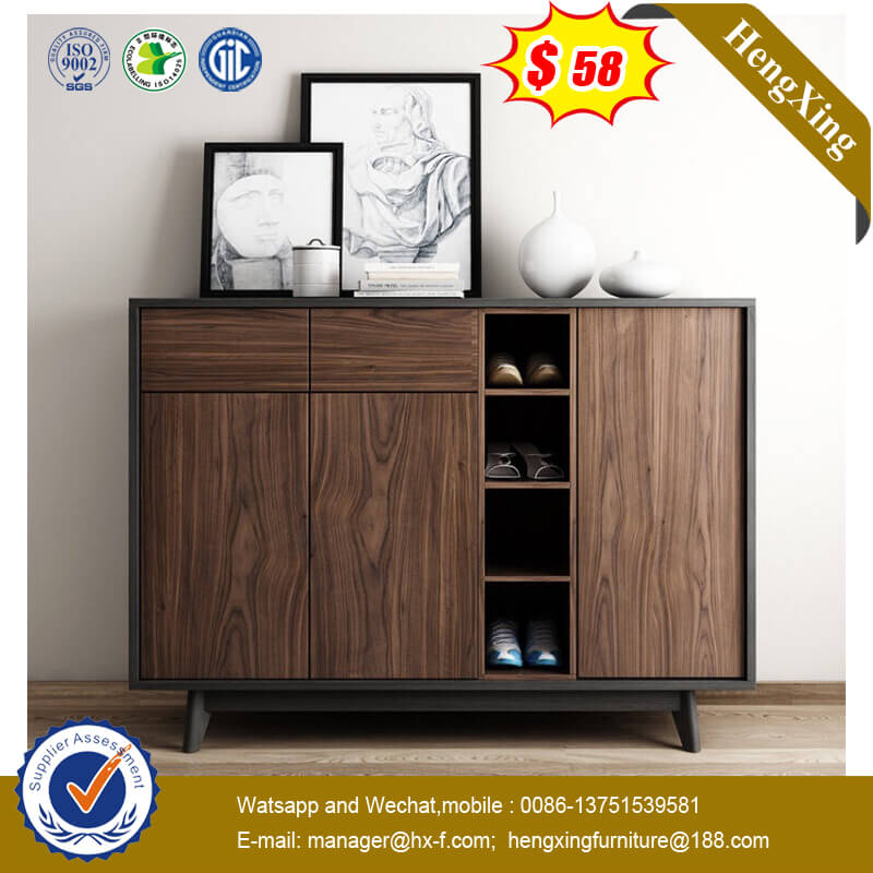 Wholesale Price Hot Sale Wooden Shoe Drawer Storage Cabinet Living Room