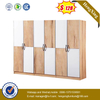 Modern Six Doors Wardrobe Bedroom Furniture Hotel Furniture Set