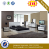 New design wooden home bedroom furniture hotel double bed