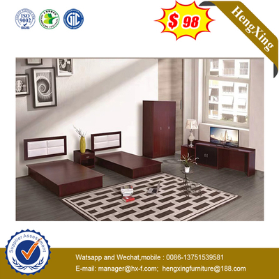 Bedroom Hotel Apartment Furniture High Box Pneumatic Wooden Frame Storeable Big Size Bed
