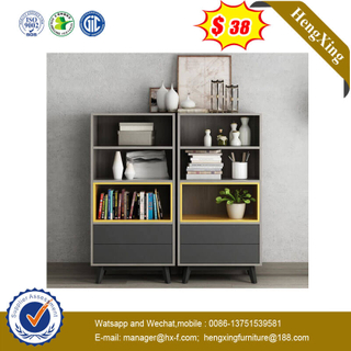 Solid Modern Furniture Design Library Student Bookshelf Wood Bookcase