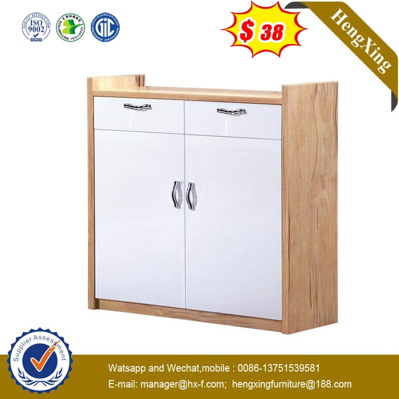 Chinese Wooden Home Hotel Furniture High Cabinet Kitchen Storage Cupboard