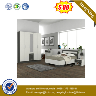 Morden Bedroom Simple Style furniture Queen Size wooden Bed