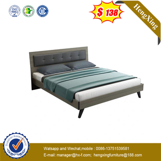 High quality King size Living room Water Proof Wooden Hotel bed