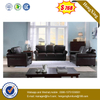 Comfortable Living Room Sofa Combination Corner Leather Sofa Set
