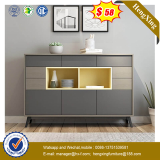 Simple Modern Sofa Side Living Room Drawer Storage Cabinet