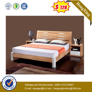 Fashion Classic King Size Bedroom Bed Laminated Home Furniture Set