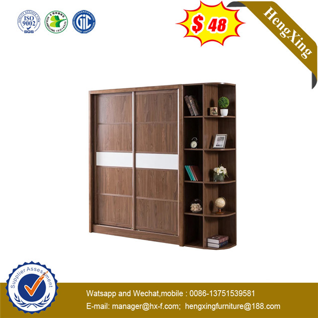 Excellent mancraft Good service after sell3 doors Fireproof Embossed swing door closet