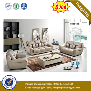Wholesale Living Room Furniture Set 1+2+3 Coffee Table Luxury Recliner Leather PU Sofa