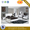 Factory sale hotel room home furniture wood king bed