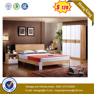 Hot Sell Home Furniture MDF Bedroom An Wood Twin Bed