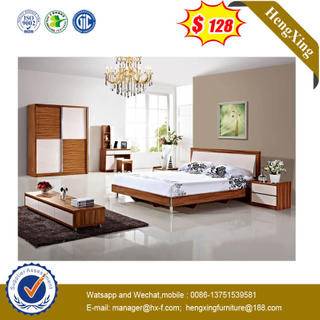 Nordic Modern 1.8 Bedroom Bed Princess Bed With Soft Package