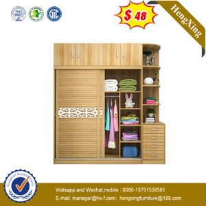 Nordic Style Sliding Door Cabinet Bedroom Large Wardrobe Overall Storage Wardrobe