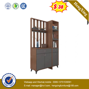 Nordic Minimalist Creative Living Room Partition Screen Porch Cabinet Shelf Bookshelf