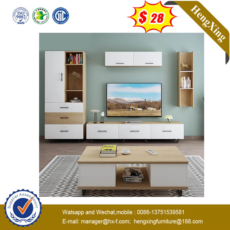 2020 Hot Sell Coffee Table Living Furniture Sets Wooden TV Stand