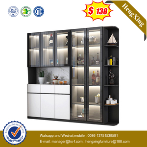 Nordic Wine Cabinet Wall Glass Display Cabinet Locker Home Sideboard Customization Living Room Cabinet