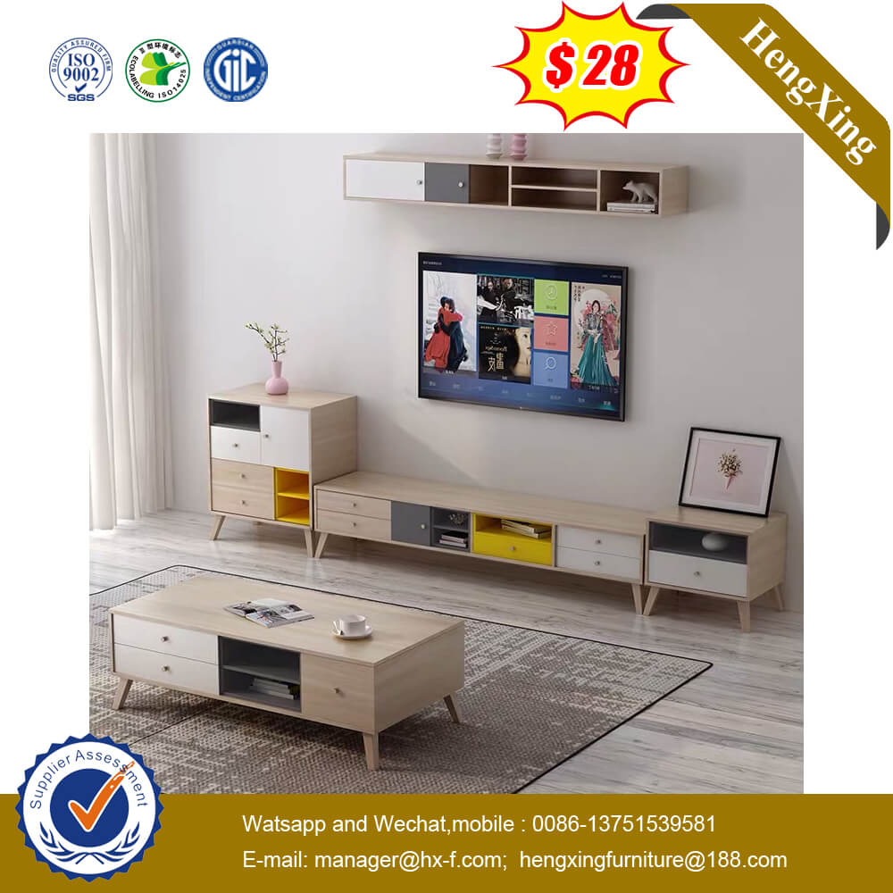 Home Design Wooden TV Stand Cabinet Modern Nordic Furniture