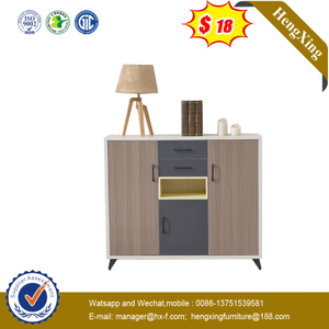 Popular Style Living Room Furniture Modern Wooden Shoe Rack Cabinets Lower Storage Cabinet