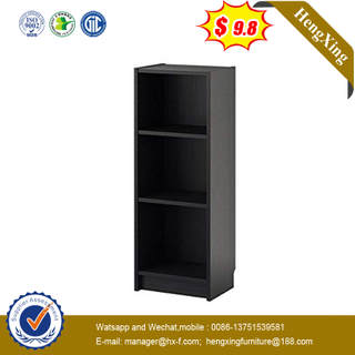 Black Multi-Functional Goods Shelf Wood Bookcase