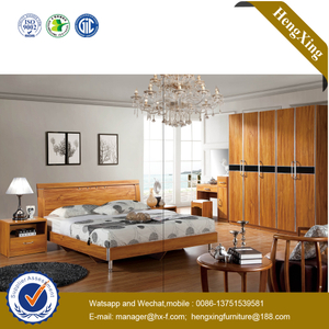 Modern Design Top Quality Hotel Bed Luxury Furniture Wooden Bedroom Set