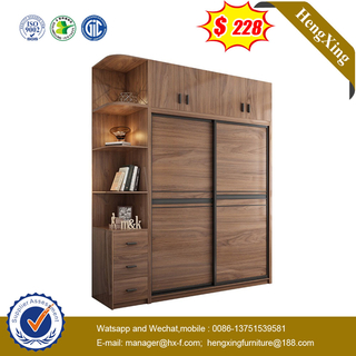 MDF Modern Bedroom Closet Furniture Wood 2 Door Cabinets Wardrobe