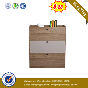 Wholesale Wood Home Furniture Shoes Storage Cabinet Customized 3 Layers Wooden Shoe Racks