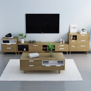 Simple Design Modern Designer Nordic Style Wooden Tv Table Wooden Tv Stands