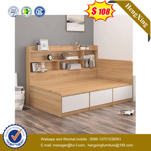 Chinese Factory wood home Furniture Bedroom Set Children baby children Single kids Bed