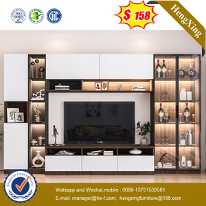 Modern Floating Wall Mounted Living Room TV Cabinet Designs Furniture glass cabinets TV Stand
