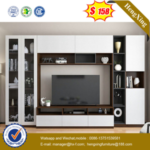 Modern Hotel Wooden TV Unit Living Room TV Cabinet Dining Furniture coffee table wall TV Stands