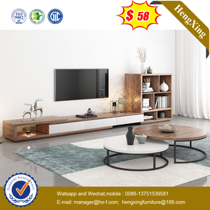 Modern Wooden Living Room Furniture Coffee Table Sets Wall TV Stand Cabinets
