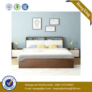 Wholesale Modern Hotel Double Size Adult Beds Wooden Bedroom Furniture Set