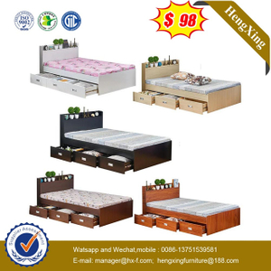 Wholesale Price Manufacturers Bedroom Furniture Portable Baby Kids single Bed with wardrobe