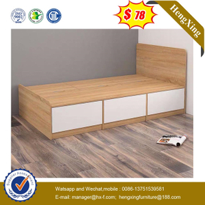 Modern School Melamine Bedroom Furniture Laminated Children Bed