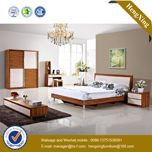 Foshan Factory Modern Hotel Living Room Home Furniture Set Storage Cabinet Sofa Single Double King Bedroom Bed