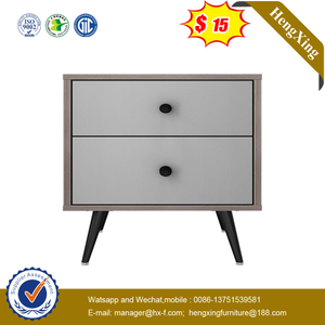 High Quality Wood Bedside Table Home Bedroom Furniture Night Stand With Storage Drawer