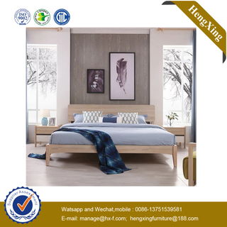 Modern Wooden Bedroom Furniture Set Mattress Leather Headboard Nightstands Single Double King Queen Beds